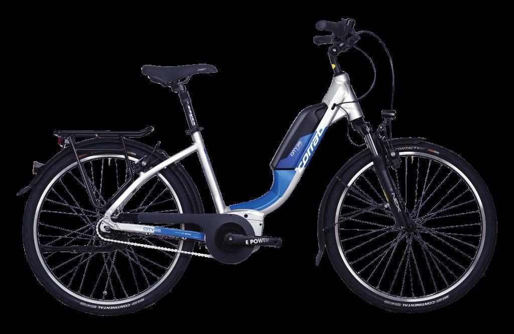 E-Bike Corratec E-Power City 26 AP4 8S BK24201 Bosch Active Plus Motor Akku 400 Wh