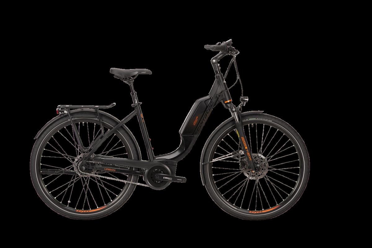 E-Bike Corratec E-Power Urban 28 AP5 8SC BK25316 Bosch Active Plus Akku 500 Wh mit Rücktritt