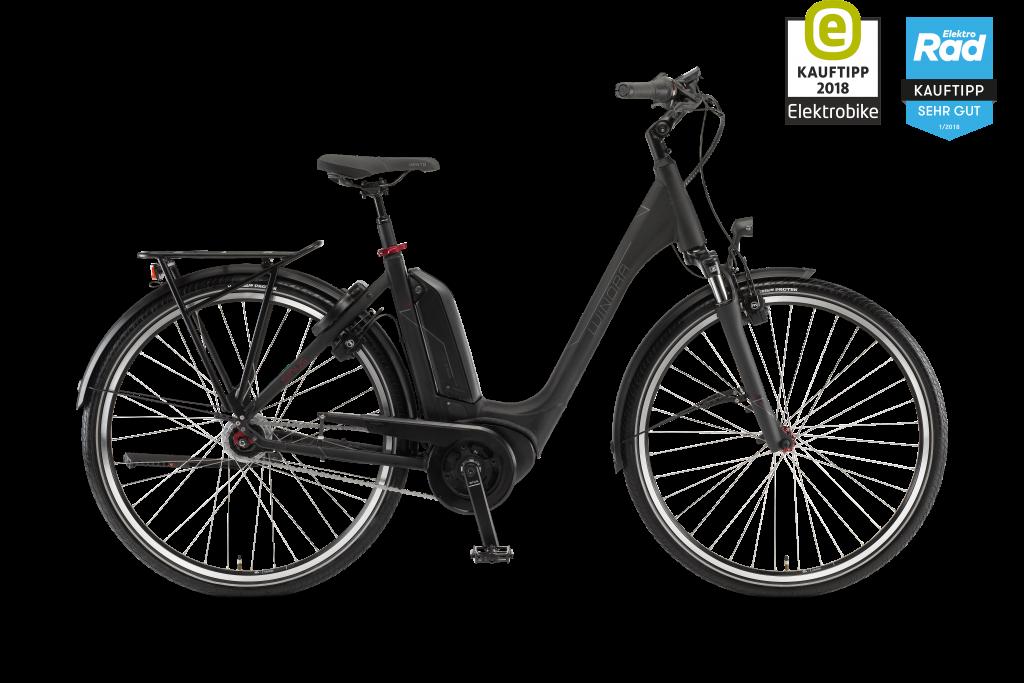 E-Bike Sius Tria N8 ER Bosch Active Plus 500 Wh Akku